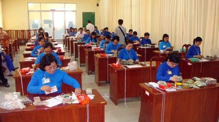 KBNN An Giang tổ chức hội thi nghiệp vụ 2014