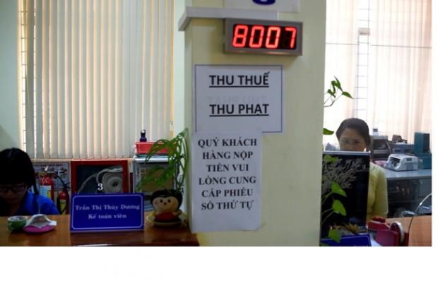 Kho Bạc Nhà Nước An Giang đưa vào sử dụng hệ thống lấy số thứ tự