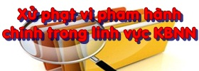 xử phạt vi phạm hành chính trong  lĩnh vực Kho bạc Nhà nước tại Nghị định số 192/2013/NĐ-CP ngày 21/11/2013 của Chính phủ
