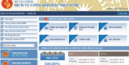 KBNN An Giang triển khai cung cấp  dịch vụ công trực tuyến