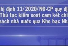 Triển khai Nghị định số 11/2020/NĐ-CP của Chính phủ